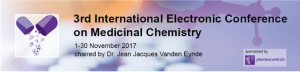 3rd International Electronic Conference on Medicinal Chemistr